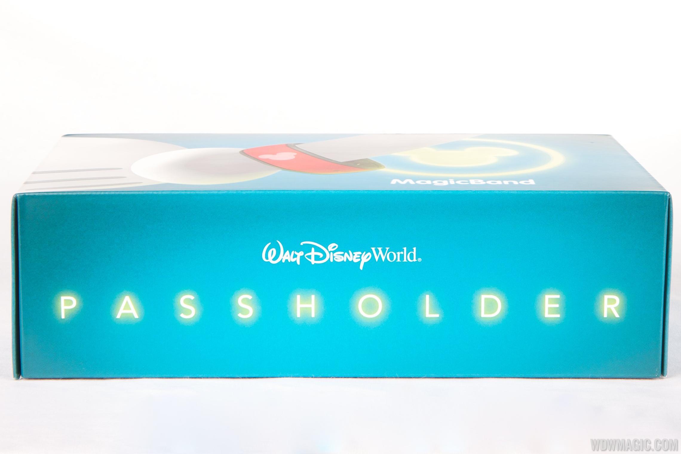 MagicBand passholder box side view