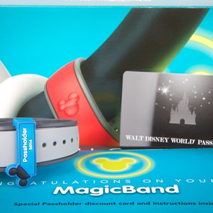 7 of 7: MyMagic+ - MyMagic Passholder MagicBand unboxing