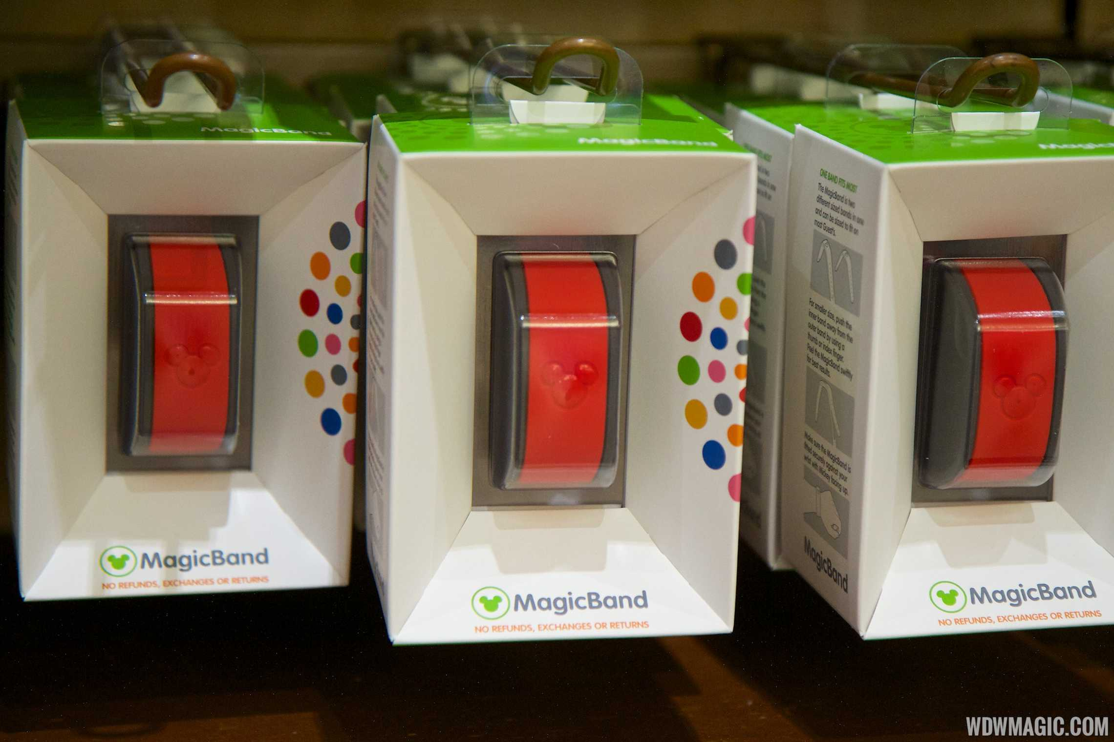 MagicBand retail display