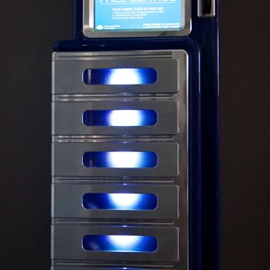 3 of 10: MyMagic+ - Unattended smartphone charging lockers