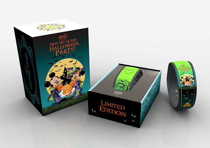 two new limited edition magicbands now available haunted mansion and mickeys not so scary halloween party - Mickey Not So Scary Halloween Party Tickets