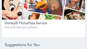 'My Disney Experience' app updated to include PhotoPass previews