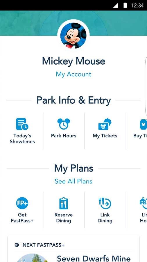 My Disney Experience Android v4