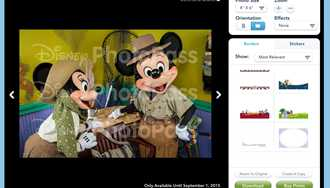 Update to Disney's PhotoPass site adds copy protection watermarks over images