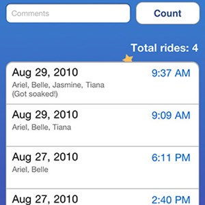 3 of 5: WDWMAGIC Updates - Ride Counter Screenshots - FREE iPhone and iPod Touch app from WDWMAGIC