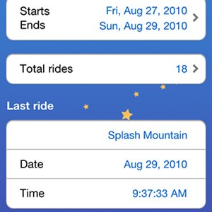 4 of 5: WDWMAGIC Updates - Ride Counter Screenshots - FREE iPhone and iPod Touch app from WDWMAGIC