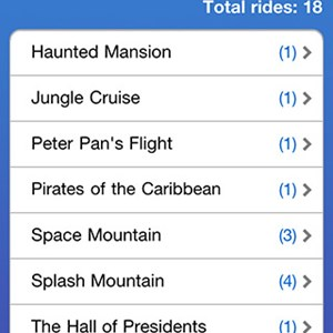 5 of 5: WDWMAGIC Updates - Ride Counter Screenshots - FREE iPhone and iPod Touch app from WDWMAGIC