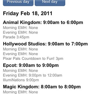 2 of 5: WDWMAGIC Updates - WDWMAGIC Screenshots - FREE iPhone and iPod Touch app from WDWMAGIC