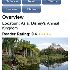 4 of 5: WDWMAGIC Updates - WDWMAGIC Screenshots - FREE iPhone and iPod Touch app from WDWMAGIC