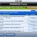 WDWMAGIC Updates - Landscape mode in the forums is now supported along with portrait