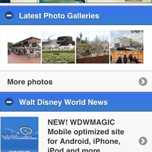 1 of 4: WDWMAGIC Updates - WDWMAGIC Mobile screenshots