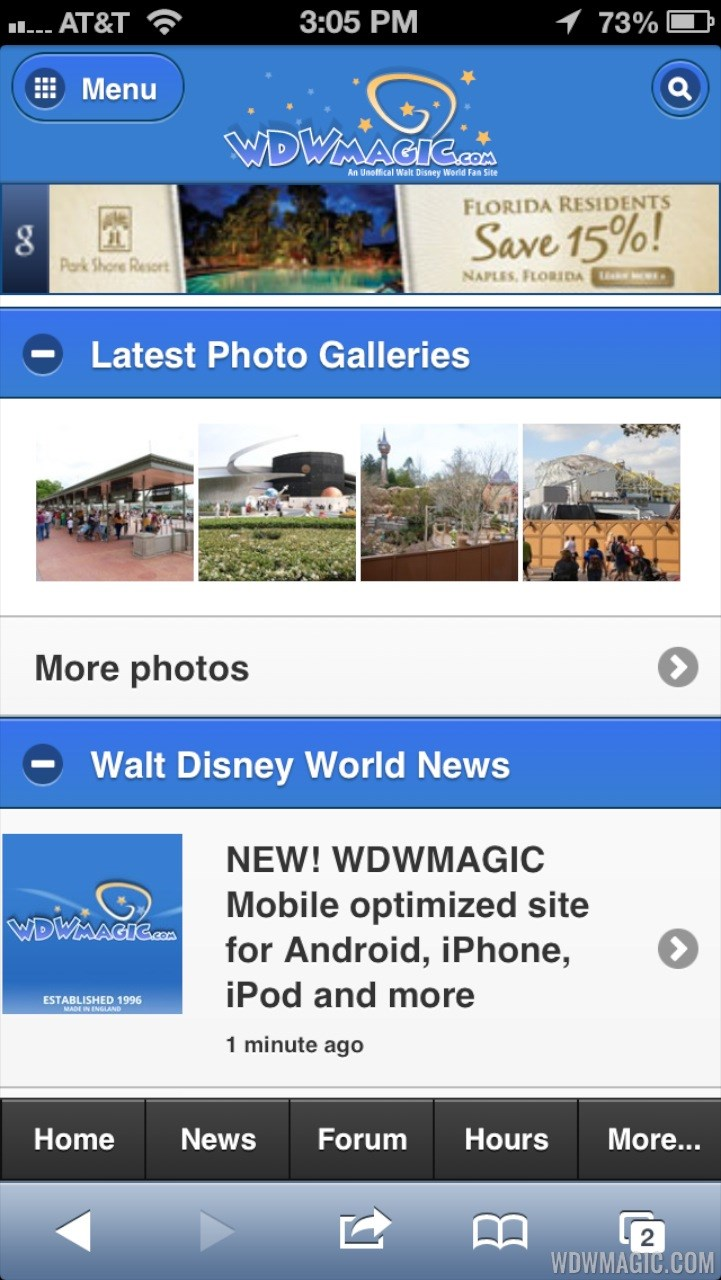 WDWMAGIC Mobile screenshots