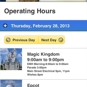 3 of 4: WDWMAGIC Updates - WDWMAGIC Mobile screenshots