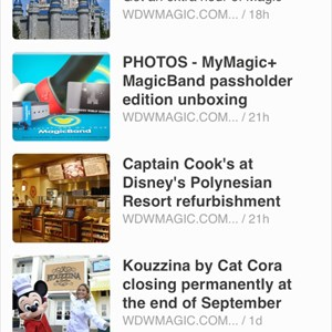 2 of 2: WDWMAGIC Updates - WDWMAGIC on Feedly via RSS