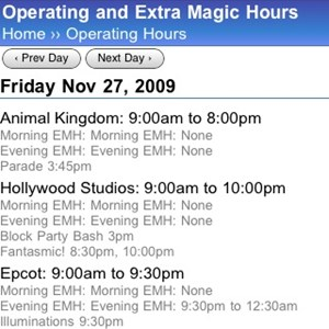 1 of 1: WDWMAGIC Updates - WDWMAGIC Mobile Calendar enhanced features