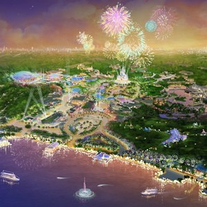 1 of 3: The Walt Disney Company - Shanghai Disney Resort concept art