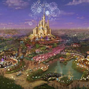 2 of 3: The Walt Disney Company - Shanghai Disney Resort concept art