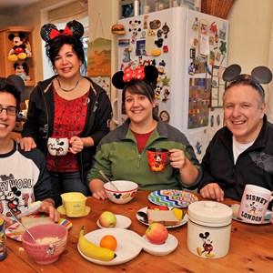 3 of 3: The Walt Disney Company - The world's first ever 'Walt Disney World Family'