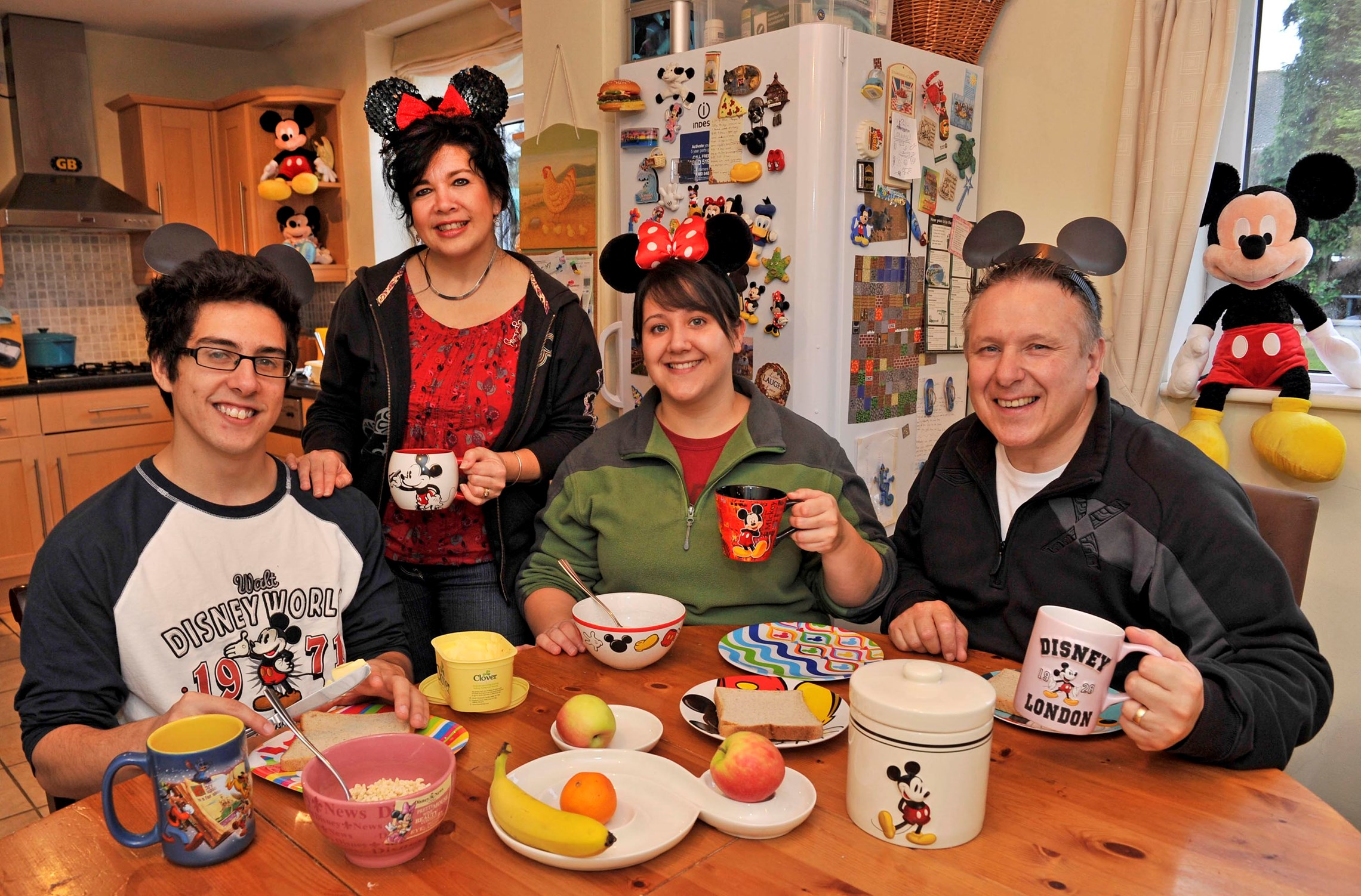 The world's first ever 'Walt Disney World Family'