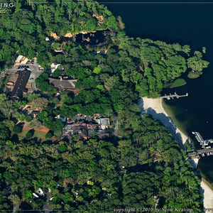 4 of 11: Walt Disney World Aerial Photos - Disney's Fort Wilderness Resort and Campground