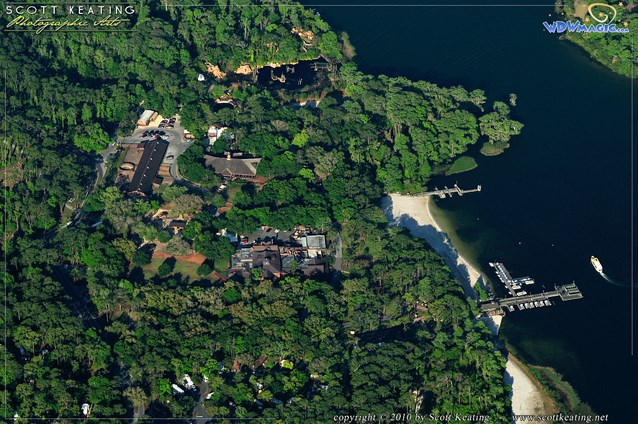 Walt Disney World Aerial Photos - Disney's Fort Wilderness Resort and Campground