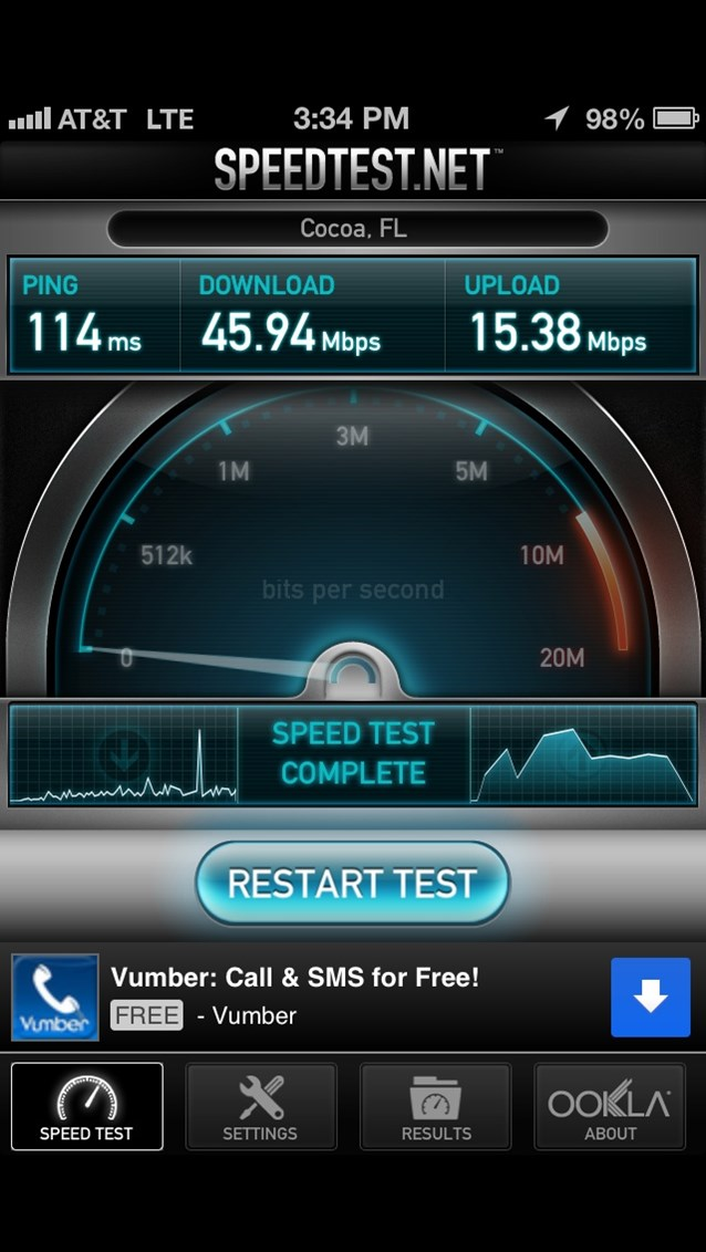iPhone 5 Goes to Epcot - iPhone 5 on AT&T LTE at Epcot