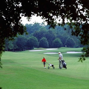 3 of 4: Golf at Walt Disney World - Oak Trail Course