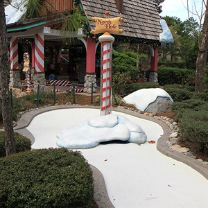 14 of 18: Winter Summerland Mini Golf - Hole 14