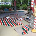 Winter Summerland Mini Golf - Hole 15