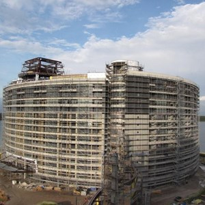 8 of 20: Bay Lake Tower at Disney's Contemporary Resort - Latest Bay Lake Tower construction photos