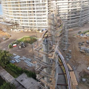 9 of 20: Bay Lake Tower at Disney's Contemporary Resort - Latest Bay Lake Tower construction photos