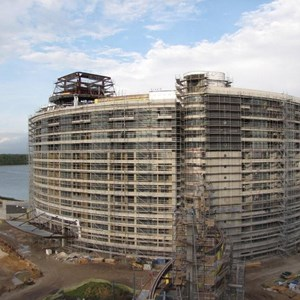 11 of 20: Bay Lake Tower at Disney's Contemporary Resort - Latest Bay Lake Tower construction photos