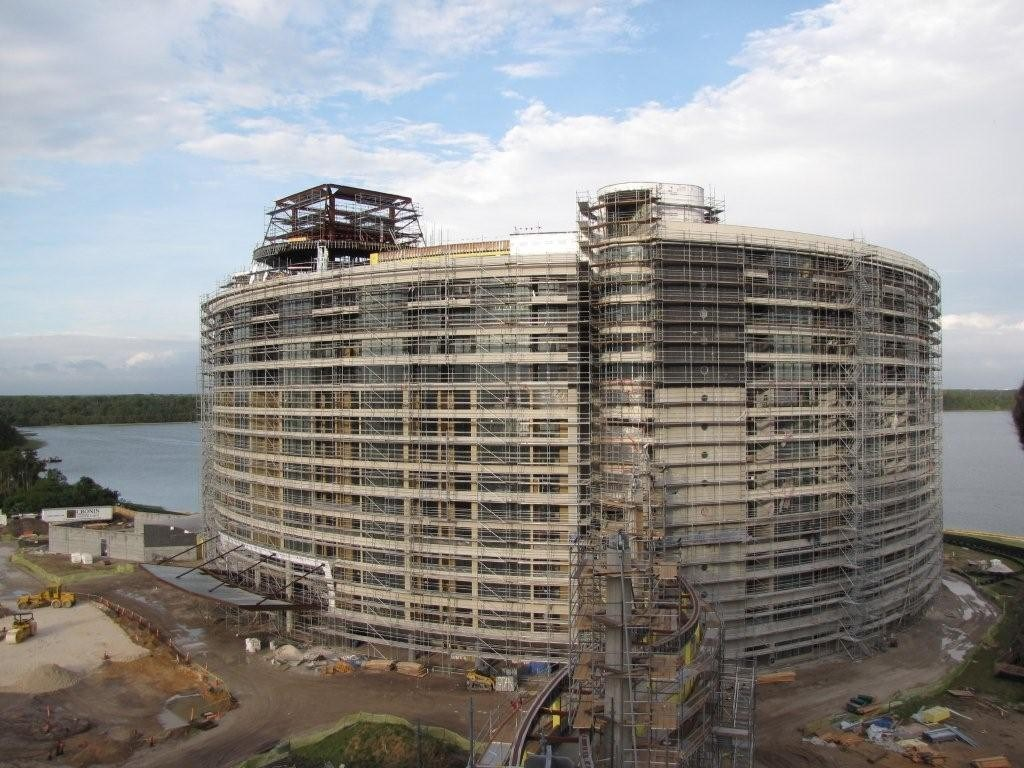 Latest Bay Lake Tower construction photos