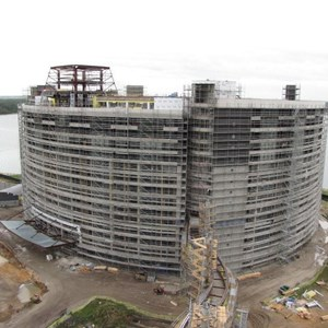 13 of 20: Bay Lake Tower at Disney's Contemporary Resort - Latest Bay Lake Tower construction photos