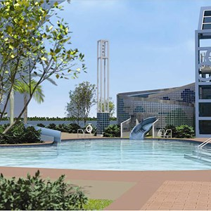 1 of 4: Bay Lake Tower at Disney's Contemporary Resort - Bay Lake Tower concept art