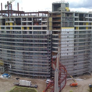 2 of 6: Bay Lake Tower at Disney's Contemporary Resort - Latest Bay Lake Tower construction photos