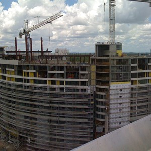 6 of 6: Bay Lake Tower at Disney's Contemporary Resort - Latest Bay Lake Tower construction photos