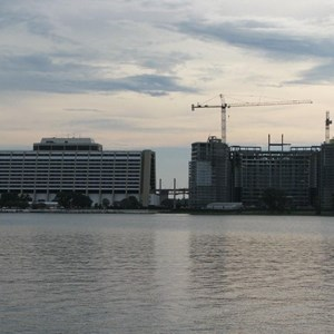 1 of 16: Bay Lake Tower at Disney's Contemporary Resort - Latest Bay Lake Tower construction photos