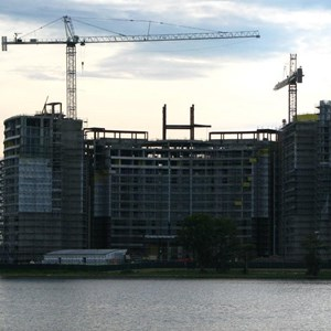 3 of 16: Bay Lake Tower at Disney's Contemporary Resort - Latest Bay Lake Tower construction photos
