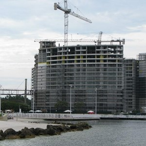 8 of 16: Bay Lake Tower at Disney's Contemporary Resort - Latest Bay Lake Tower construction photos