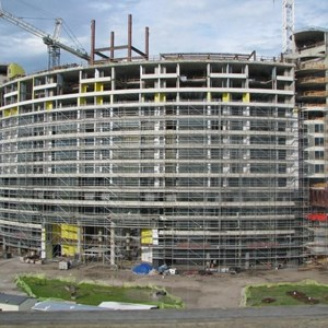 9 of 16: Bay Lake Tower at Disney's Contemporary Resort - Latest Bay Lake Tower construction photos