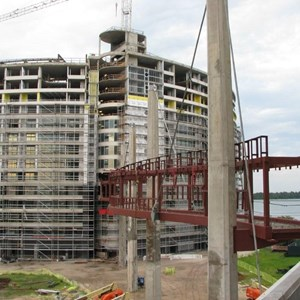 12 of 16: Bay Lake Tower at Disney's Contemporary Resort - Latest Bay Lake Tower construction photos