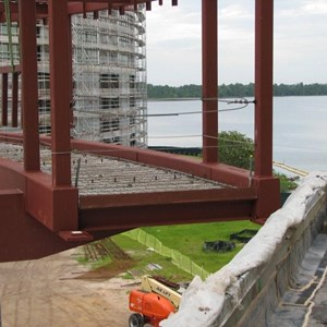 13 of 16: Bay Lake Tower at Disney's Contemporary Resort - Latest Bay Lake Tower construction photos