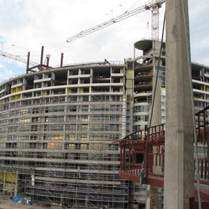 14 of 16: Bay Lake Tower at Disney's Contemporary Resort - Latest Bay Lake Tower construction photos