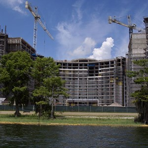 5 of 6: Bay Lake Tower at Disney's Contemporary Resort - Latest Bay Lake Tower construction photos