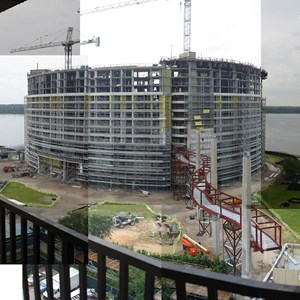 1 of 7: Bay Lake Tower at Disney's Contemporary Resort - Latest Bay Lake Tower construction photos