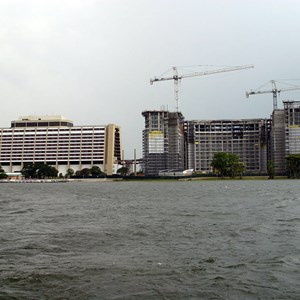 5 of 7: Bay Lake Tower at Disney's Contemporary Resort - Latest Bay Lake Tower construction photos