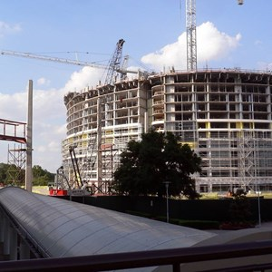 4 of 8: Bay Lake Tower at Disney's Contemporary Resort - Latest Bay Lake Tower construction photos