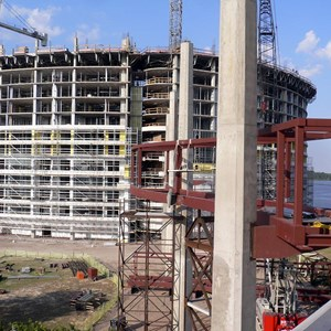 8 of 8: Bay Lake Tower at Disney's Contemporary Resort - Latest Bay Lake Tower construction photos