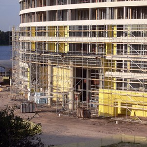 5 of 13: Bay Lake Tower at Disney's Contemporary Resort - Latest Bay Lake Tower construction photos